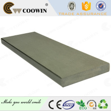 Solid wood plastic composite fake decking