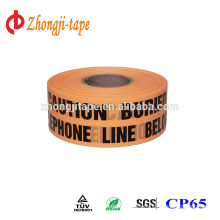 High quality underground telephone line marking tape