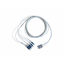 1 × 4 dispositivos LAN WDM de 800 GHz