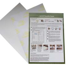 wholesale amazon hot sale A4 inkjet light dark T-shirt heat press printable heat transfer paper vinyl for cotton fabric