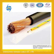NSHXAFO 1,8 / 3 kV Cable flexible de goma de un solo núcleo libre de halógenos para el transporte público y el cableado