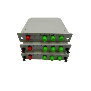 1x8 LGX Type Gpon Optik Fiber PLC Splitter