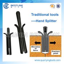 Vendas Bestlink Barato Stone Splitting Hammer Wedges