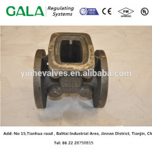 China 10 years high precision top supplier gate valve body for water