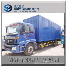 8t 10t 12t Foton Auman 4X2 Ladung Van Box Truck