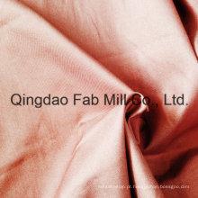 Algodão orgânico esticado tecido direito sarja (qf16-2699)