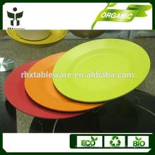 Cozinha talheres bandeja de fibra de bambu fantasia dinnerware