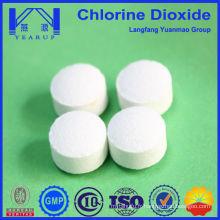 Table de dioxyde de chlore le plus vendu pour la purification de l'eau