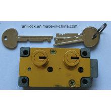 Bloqueo seguro, cerradura de la cerradura de dos cerraduras, bloqueo seguro del banco, Al-G4400