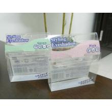 Ясная коробка PVC для тени глаза (пластичный складывая пакет)