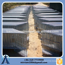 high quality Outdoor used welded hot dip galvanized powder coated Crowed Control Barrier