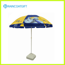 Windproof Polyester Promotional Beach Umbrella