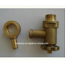 Válvula termostática de latão fabricada pela Cuostom