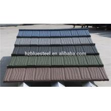 Камень покрытый крыша плитка лист для дома, хорошего качества камень покрытый стальной кровельный лист для продажи