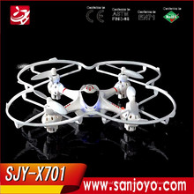 Free Shipping MJX X701 2.4g 4channels Remote Control helicopter Toys Mini Quadcopter With light rc PARROT drone kit aircraft rtf