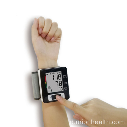 Smart Digital A Wrist Monitor Tekanan Darah