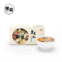 Chinese okra egg freeze-dried instant soup