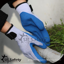 SRSAFETY 10 Ga Yellow Polycotton Liner Coated gloves cotton picture