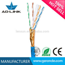 Lan cabo ftp cat6 23awg / cabo de rede 24awg