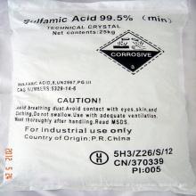 Ácido sulfâmico 99,5% e 99,8%
