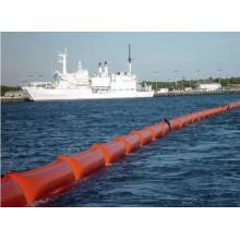 Équipement d'intervention en cas de déversement/Boom de confinement de solution de déversement/Boom de pétrole flottant gonflable
