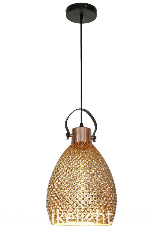 Rose Gold Modern Pendant Light