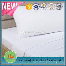T180 Bleached White Plain Bed Sheet For Hotel and Hospital Use