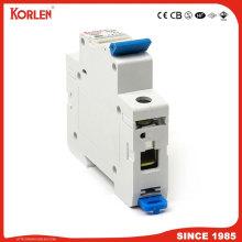 Miniature circuit breaker for household distribution box 6KA