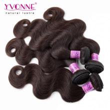 Weave peruano do cabelo humano da cor superior da categoria # 2