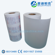 Medical Grade poly Coated Paper