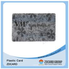Transparent PVC Magnetic Stripe Card for Membership