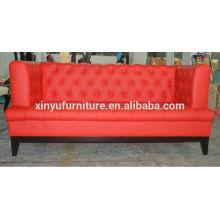 Red event chesterfield leather sofa supplier XYN50