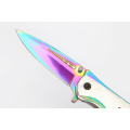 Farverig Titanium Rainbow Pocket Knife