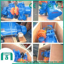 Utilizado en muchos campos Polipasto eléctrico de cable de acero