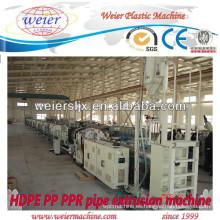 Tubo máquina línea de suministro de agua del HDPE PP y gas