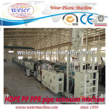 Single screw extruder used for PE PPR pipe manufacture