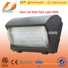 La qualité supérieure énumérée par ETL a monté le mur extérieur mené a mené la lumière 60w de paquet de mur