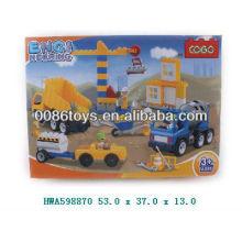 51pcs bloque de equipos de construcción