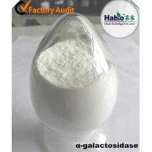 Enzima de la industria azucarera, alfa galactosidasa