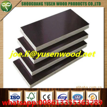 WBP Glue Two Times Hot Pressed Good Quality Combi Core Film Faced Plywood