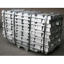 Lingre de zinc pur de qualité supérieure 99.995 avec bas prix en provenance de Chine
