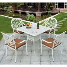 Hot vente de meubles en aluminium coulé en plein air