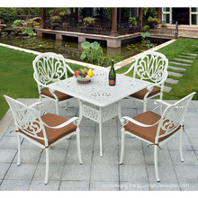 Hot Selling Cast Aluminum Outdoor Furniture Set