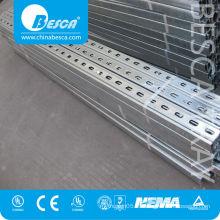 Steel c channel unistrut perfiles manufacturers