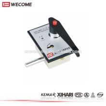 Componentes de interruptores de cerradura de puerta electromagnética