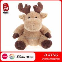 Juguetes de Navidad Regalos Soft Stuffed Elk Toy como regalos