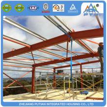 Modular china factory supplier EPS sandwich panel roof prefab warehouse