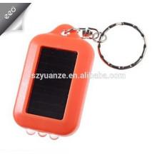Mini lampe de poche, mini lampe de poche menée, mini éclairage LED alimenté par énergie solaire