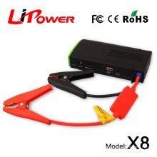 Emergency Tools 13600mA lipo battery portable car jump starter for laptop automobiles