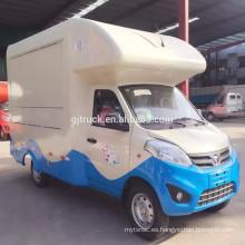 2017 best seller buena calidad food van ice cream truck